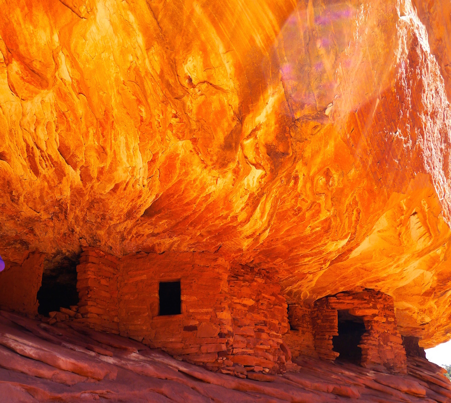 House on Fire Ruin, Mule Canyon