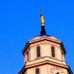 This Moroni faces west. Where? Read on.