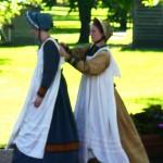 LDS Women in costume.