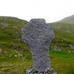 A famine monument