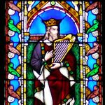 First king with harp